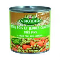 La Bio Idea - Petits pois Carottes - 400g