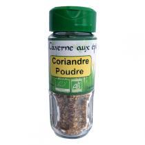 La caverne aux Epices - Coriandre poudre Bio 25g
