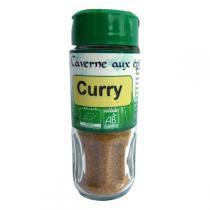 La caverne aux Epices - Curry doux Bio 37g
