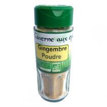 La caverne aux Epices - Gingembre poudre Bio 30g
