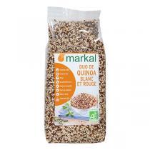Markal - Duo de quinoa rouge et blanc 500g