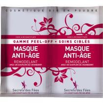 Secrets des fées - Masque Anti-âge Remodelant - 2 monodoses