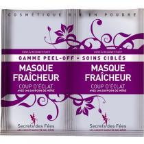Secrets des fées - Masque Fraicheur Coup d'Eclat - 2 monodoses