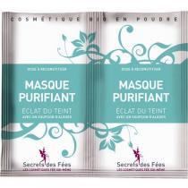 Secrets des fées - Masque Purifiant Eclat du Teint - 2 monodoses