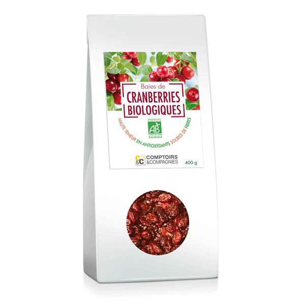 Comptoirs et Compagnies - Cranberries 400g