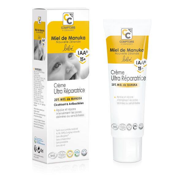 Comptoirs et Compagnies - Crème ultra réparatrice Miel de Manuka - 40ml