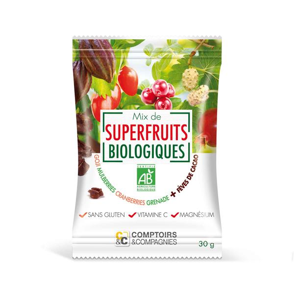Comptoirs et Compagnies - Mix de Superfruits Bio 30g