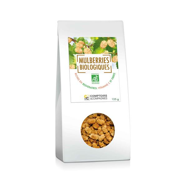 Comptoirs et Compagnies - Mulberries Bio - 125g