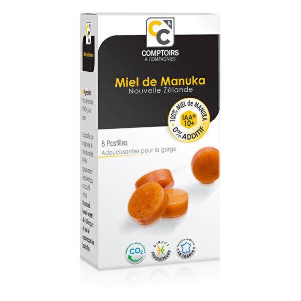 Comptoirs et Compagnies - Pastilles 100% Miel de Manuka IAA10+ - 20g
