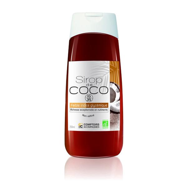 Comptoirs et Compagnies - Sirop de Fleurs de Coco Bio 250mL
