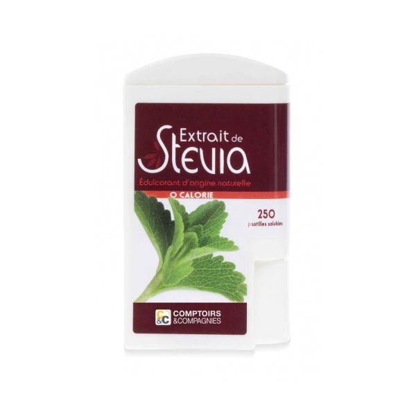 Comptoirs et Compagnies - Distributeur 250 pastilles de stévia