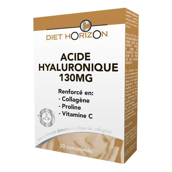 Diet Horizon - Acide hyaluronique 130mg 30 cpés