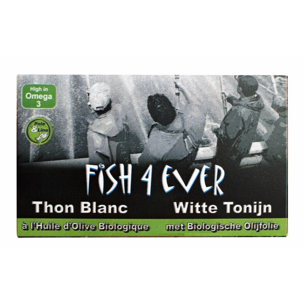 Fish4Ever - Filets de thon germon ( thon blanc) 220g