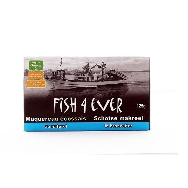 Fish4Ever - Maquereau au naturel 125g