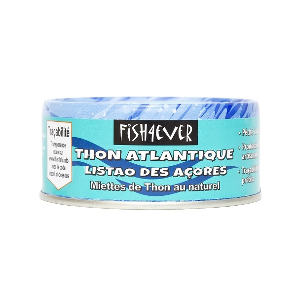 Fish4Ever - Miettes de thon au naturel 160g