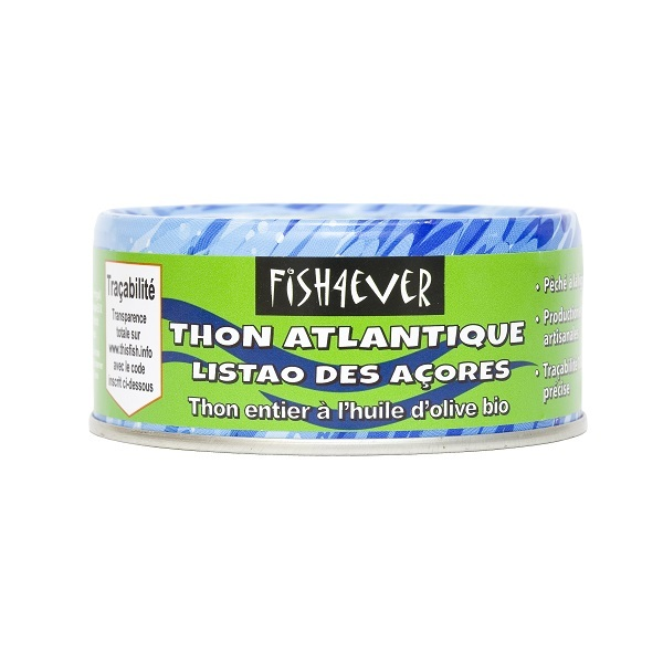Fish4Ever - Thon à l'huile d'olives bio 160g