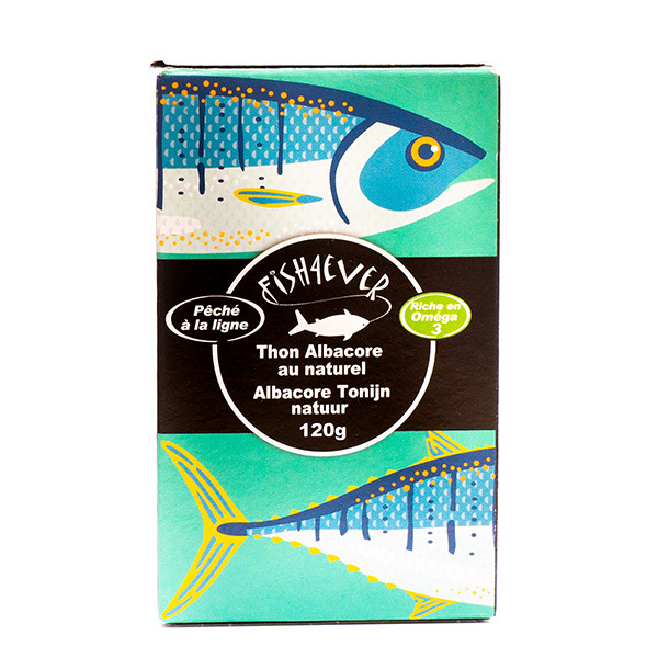 Fish4Ever - Thon albacore au naturel 120g