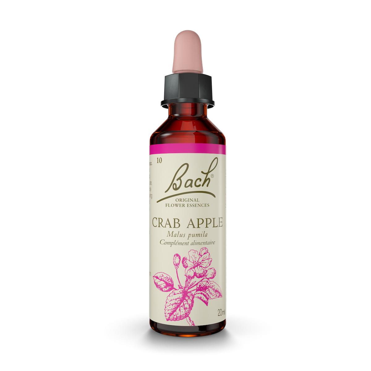 Fleurs de Bach® Original - Fleur de Bach n°10 Crab Apple - Flacon compte-goutte de 20mL