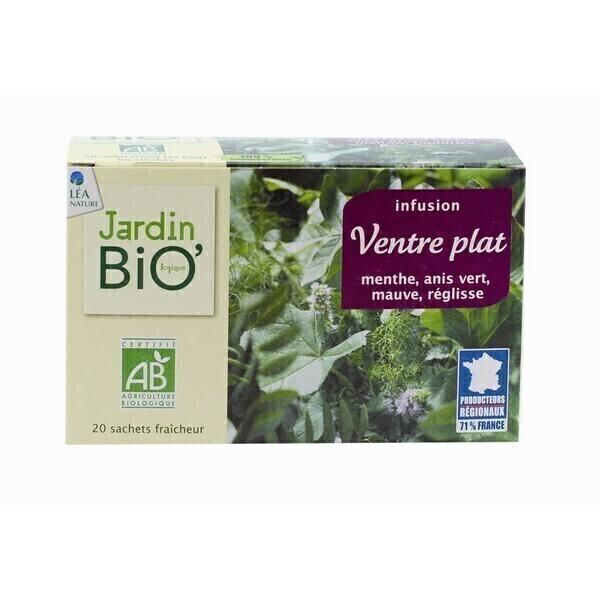 Infusion Ventre plat - 20 sachets Jardin Bio   Acheter sur