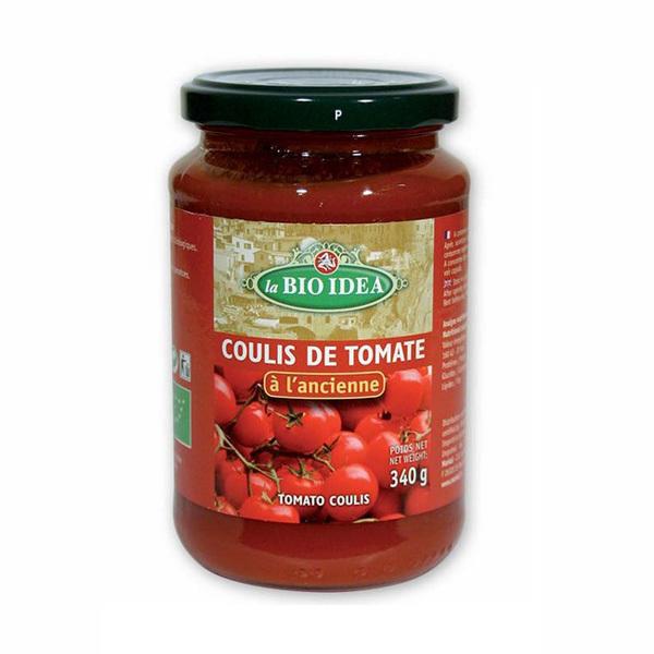 La Bio Idea - Coulis de tomates à l'ancienne 340g