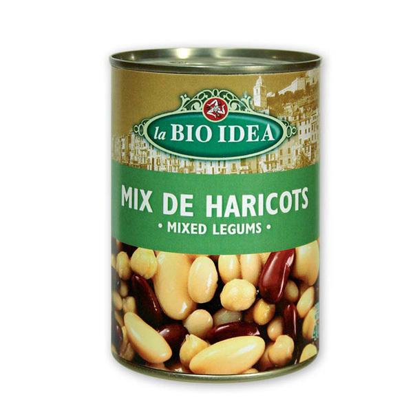 La Bio Idea - Mix de 4 haricots 400g