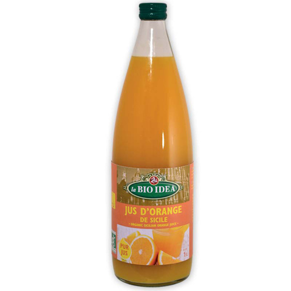 La Bio Idea - Pur jus d'orange 1L