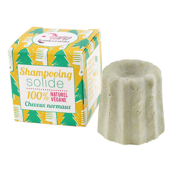 Lamazuna - Shampooing solide Cheveux normaux Sapin 55G