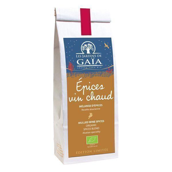 Les jardins de Gaïa - Epices vin chaud Recette alsacienne 100g