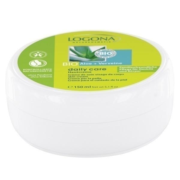 Logona - Crème visage et corps Aloé Verveine 150ml