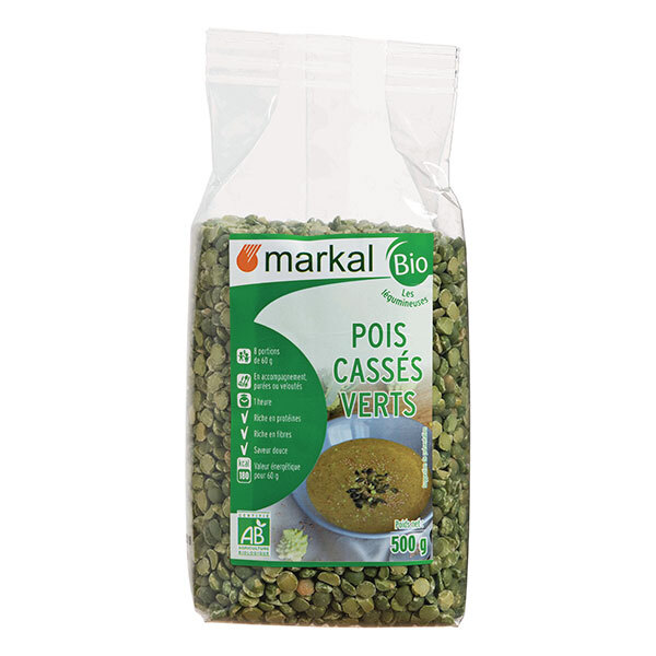 Markal - Pois cassés verts 500g