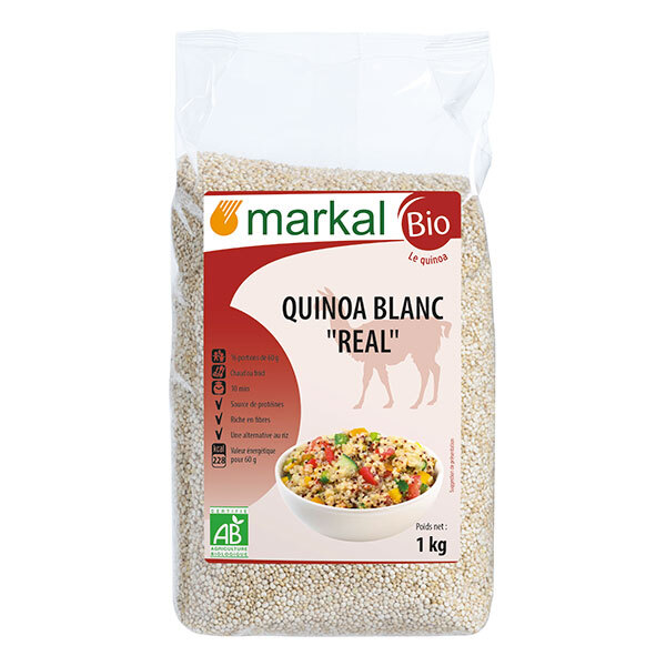 Markal - Quinoa real blanc 1kg