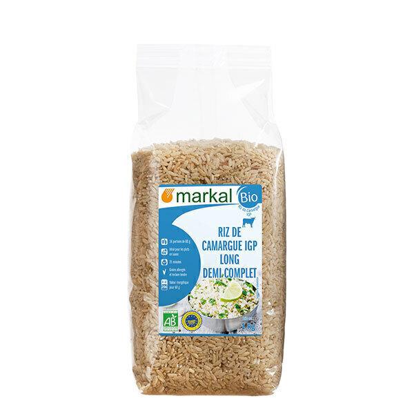 Markal - Riz long demi-complet camargue 1kg