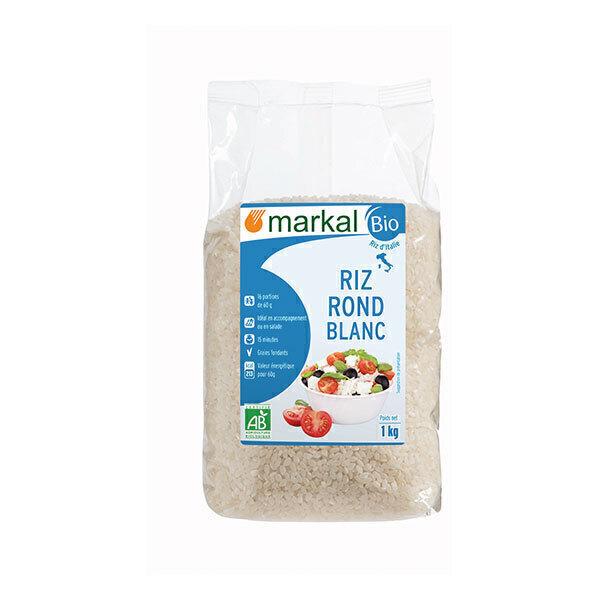 Markal - Riz rond blanc 1kg