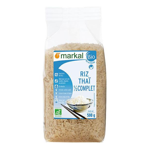 Markal - Riz thaï demicomplet 500g