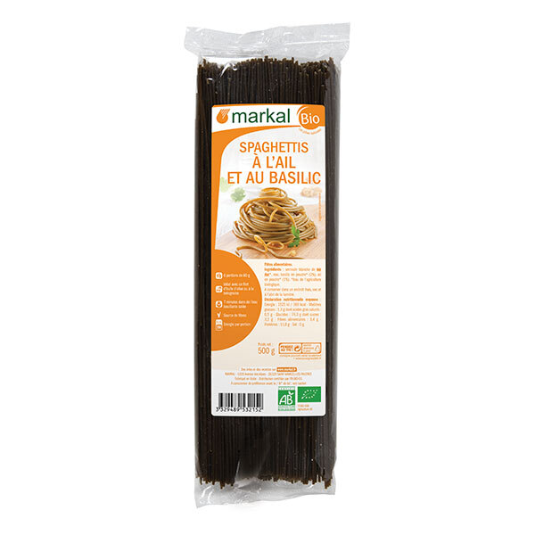 Markal - Spaghettis ail basilic 500g