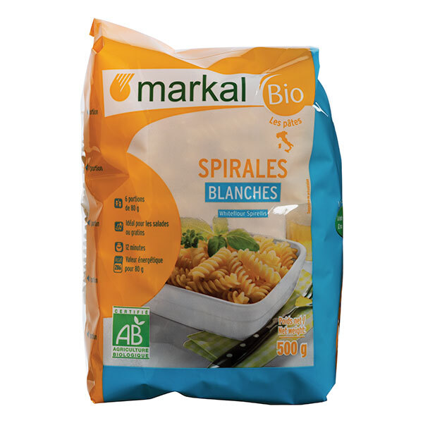 Markal - Spirales blanches - 500g