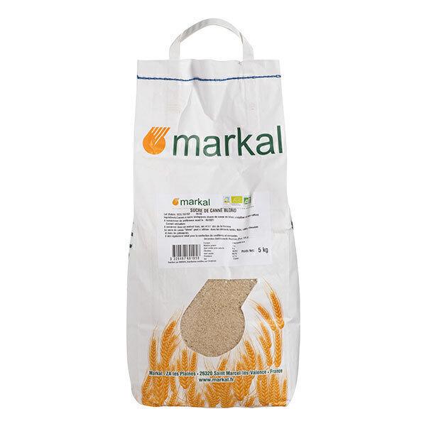 Markal - Sucre blond de canne 5kg