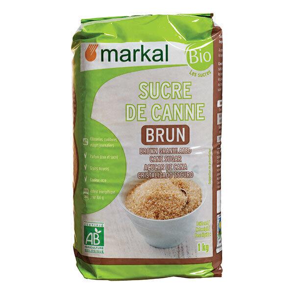 Markal - Sucre brun de canne 1kg