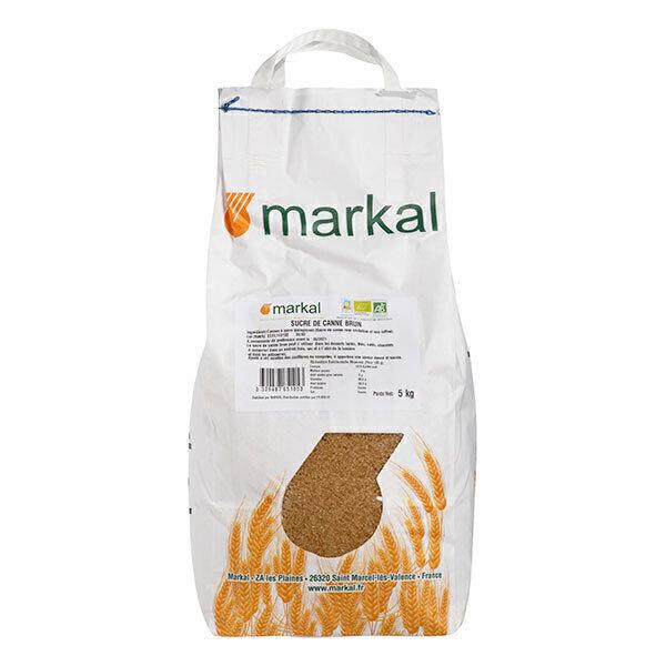 Markal - Sucre brun de canne 5kg