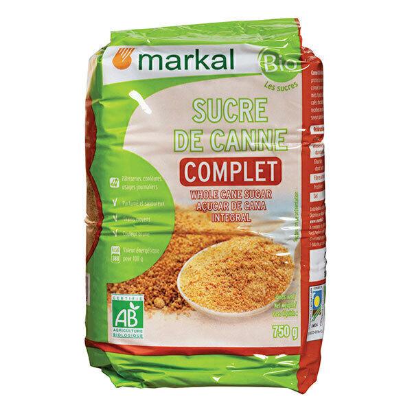 Markal - Sucre de canne complet - 750g