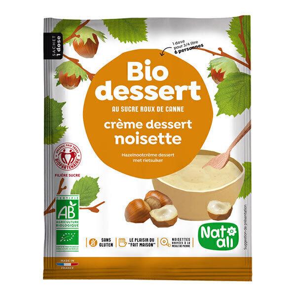 Natali - Préparation Bio dessert à la crème noisette 60g