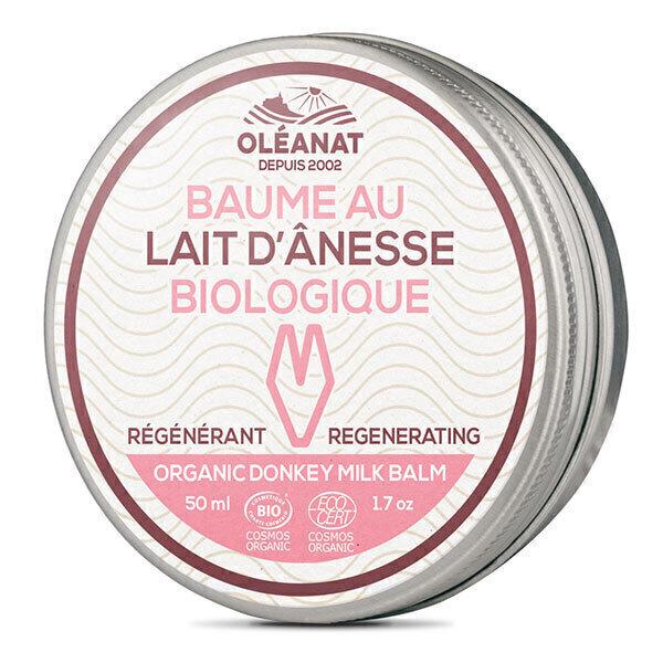 Oléanat - Baume au lait d'ânesse hypoallergenique 50ml