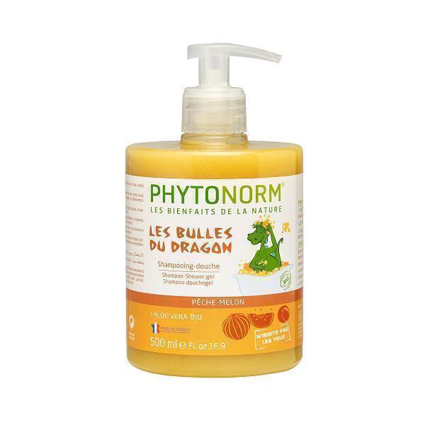 Phytonorm - Shampooing-douche senteur pêche-melon 500ml