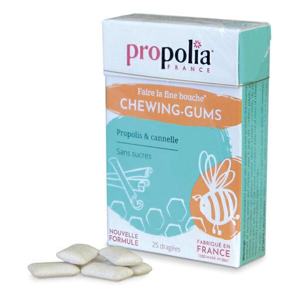Propolia - Chewing Gum Propolis & Cannelle Boîte 24 g