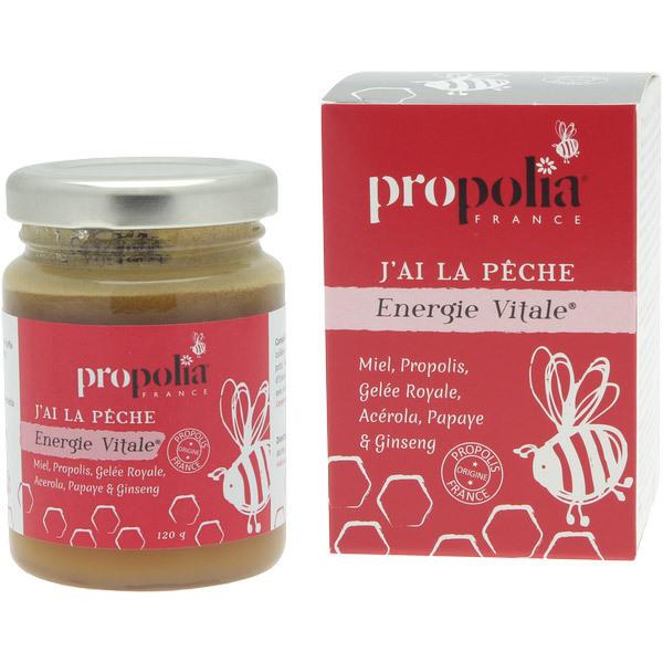 Propolia - Energie Vitale J'ai la Pêche - Pot de 120 g