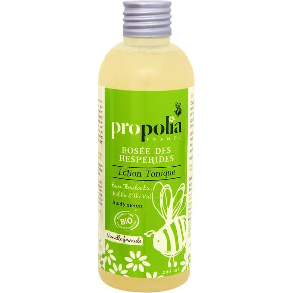 Propolia - Lotion Tonique Bio Eaux Florales Bio, Miel Et Thé 200 mL