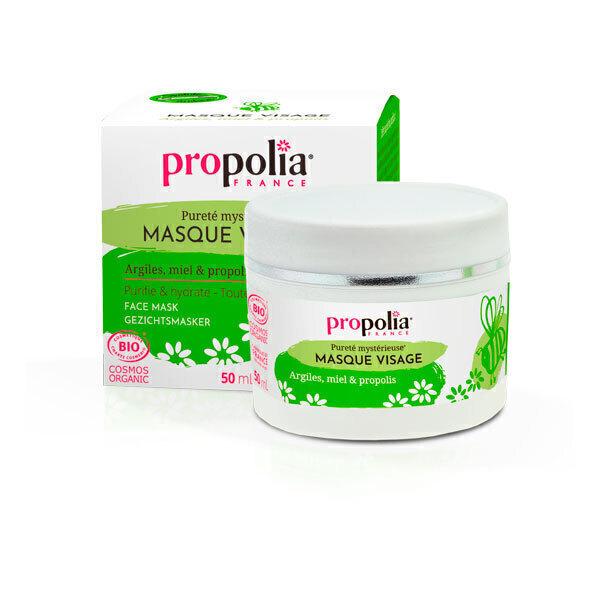 Propolia - Masque Visage Bio, Kaolin, Miel & Propolis 50 mL