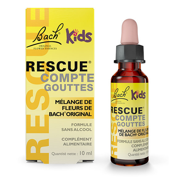 RESCUE® - Rescue Kids - Flacon compte-gouttes de 10mL