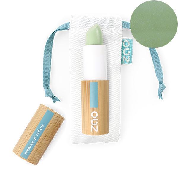 Zao MakeUp - Correcteur stick vert anti-rougeurs 499