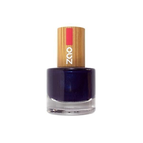 vernis ongles 653 bleu nuit zao makeup acheter sur. Black Bedroom Furniture Sets. Home Design Ideas
